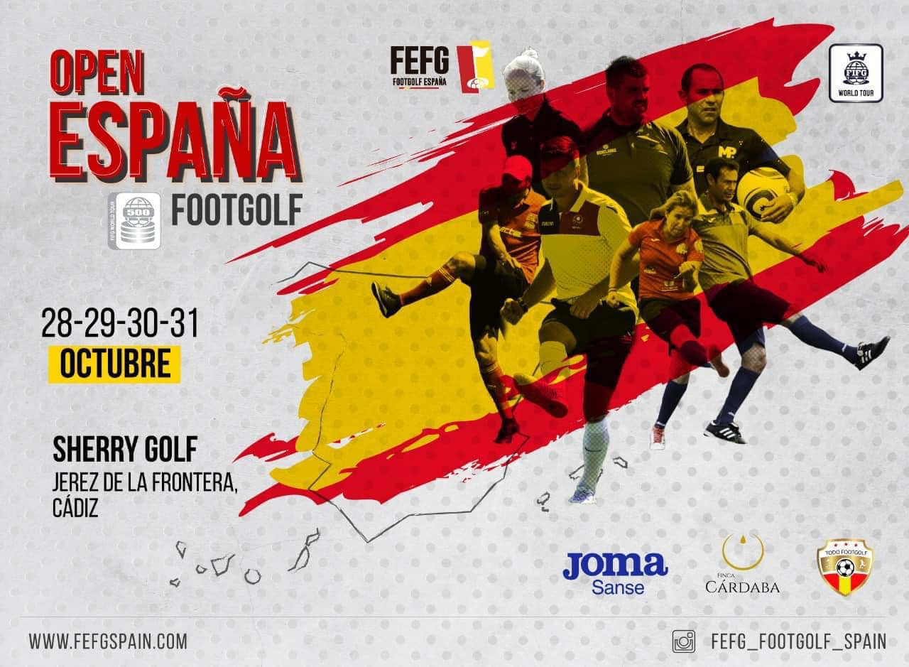 OPEN ESPAÑA FOOTGOLF 2021